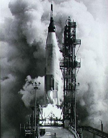 Launch of the Mercury-Atlas 4