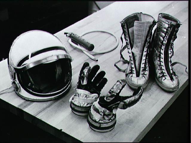 Mercury suit components
