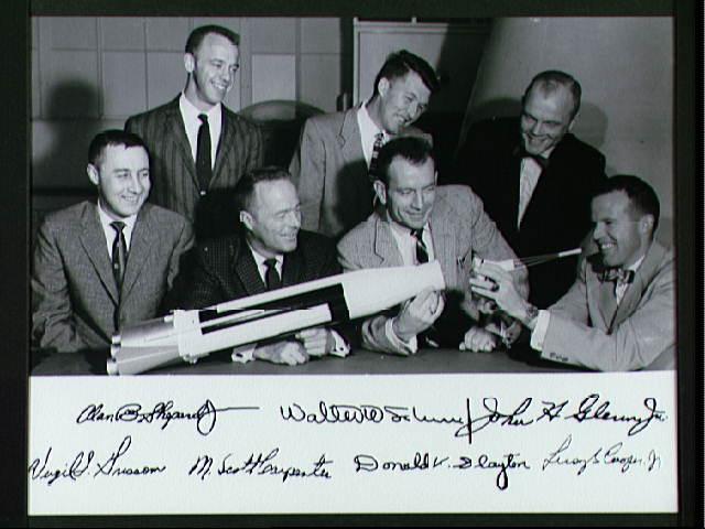 Original Mercury Astronauts