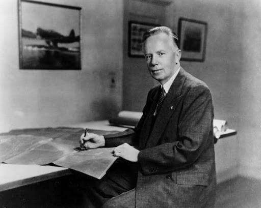 Jack Northrop (properly named John Knudsen Northrop) was born in 1895, and died in 1981.