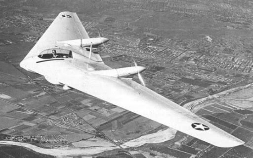 Northrop N-9M, of which four were ultimately built.