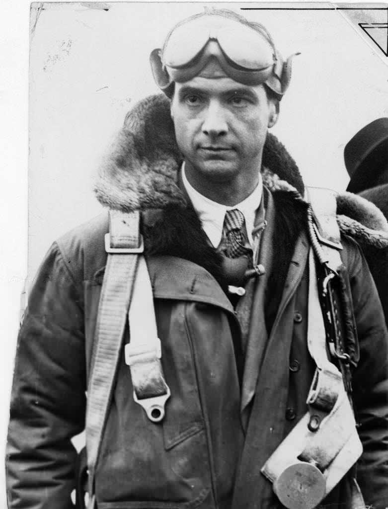 Howard Hughes Jr. in flight gear, circa 1937