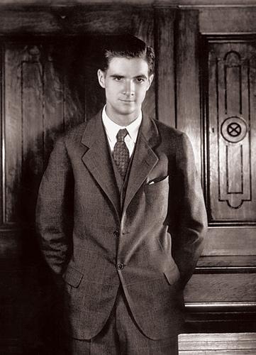 A young Howard Hughes