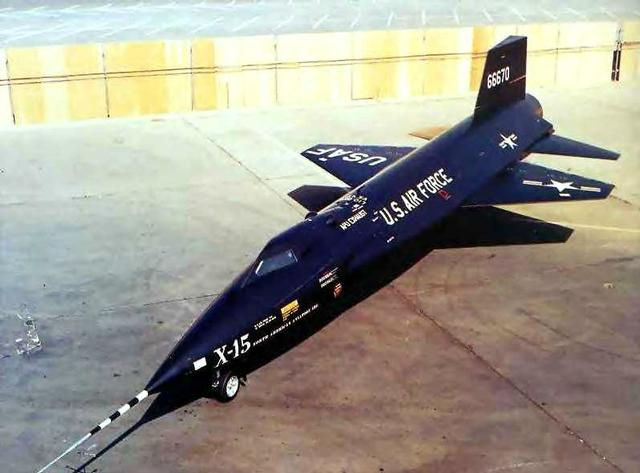X-15 Rollout