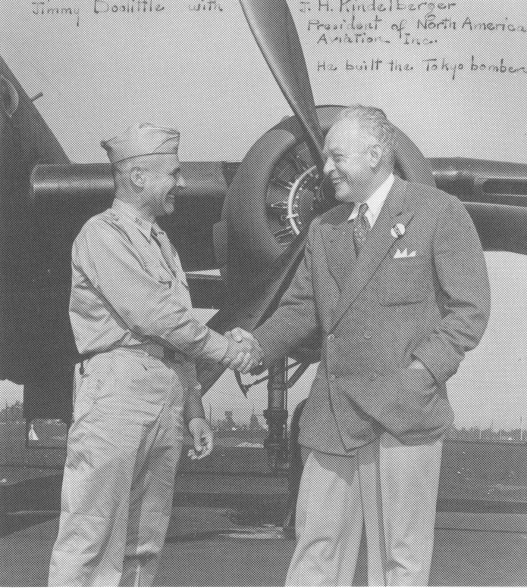 General Jimmy Doolittle and good friend Dutch Kindelberger