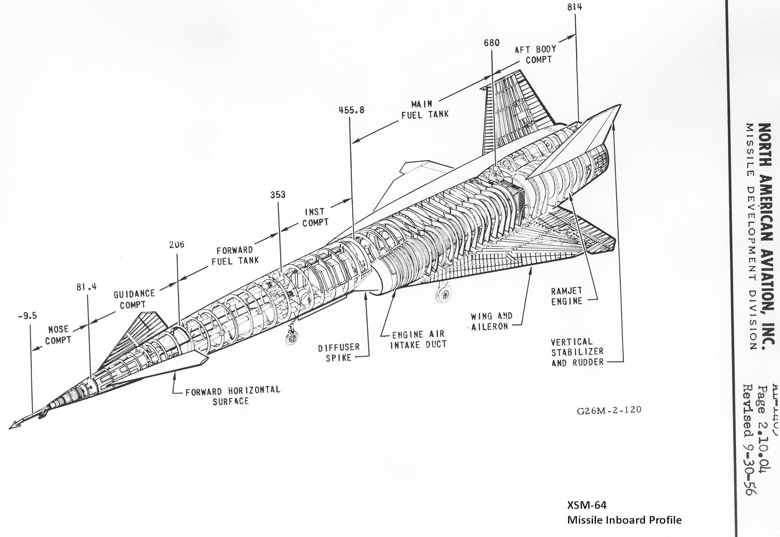 XSM-64 Navaho Missile