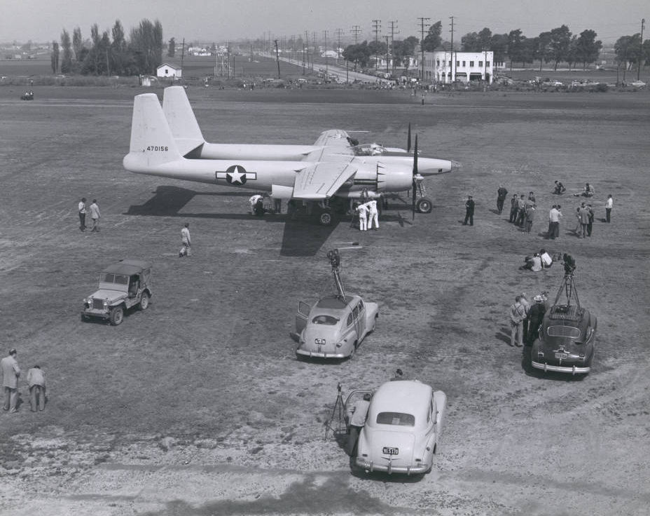 XF-11 image from UNLV Archive