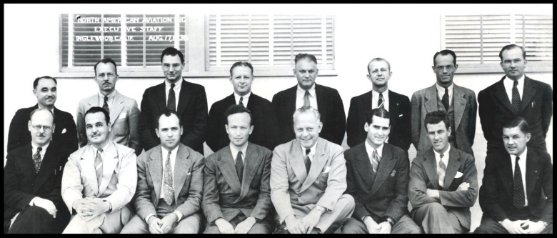 North American Aviation Board of Directors in 1938.