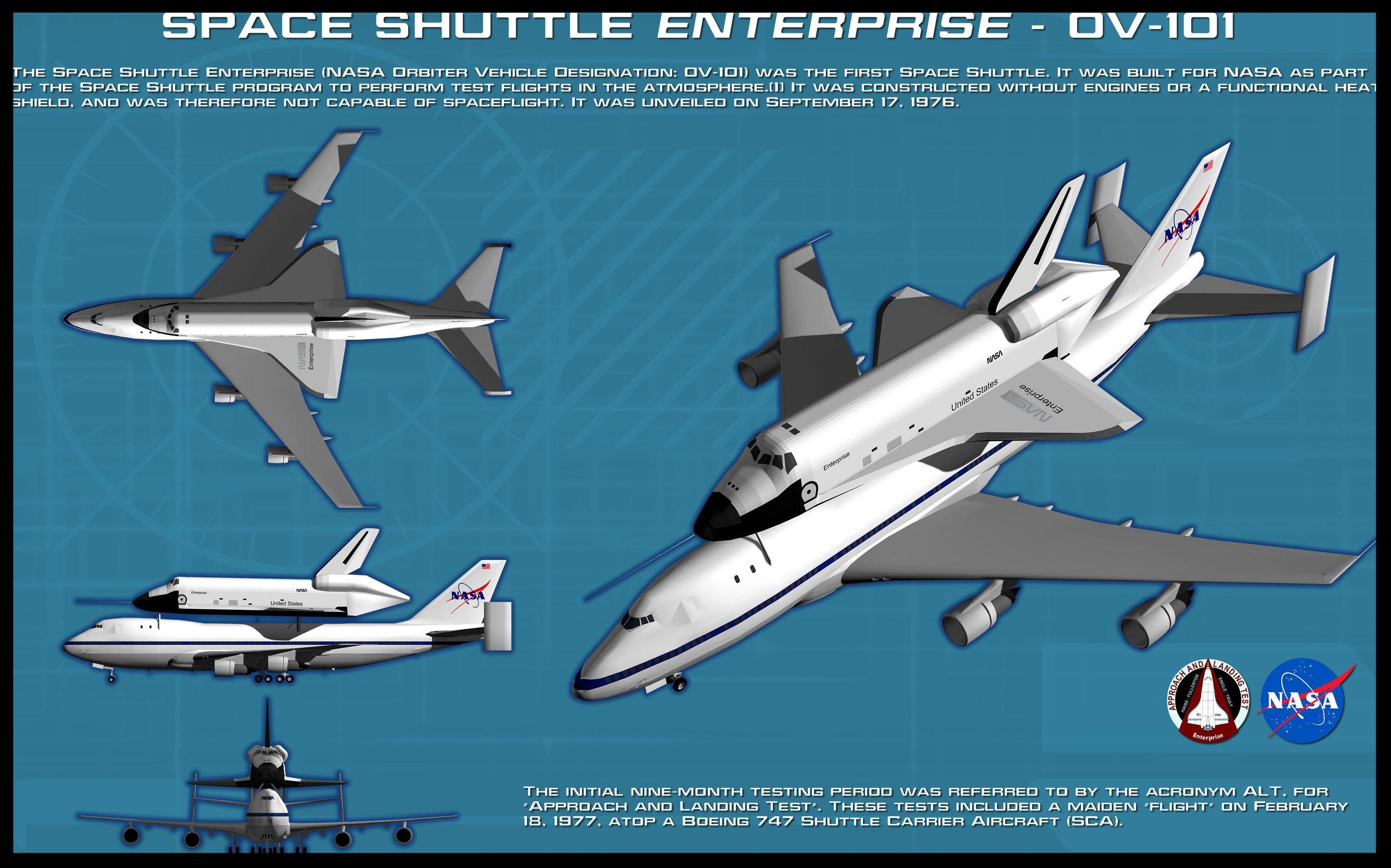 Space Shuttle Enterprise OV-101