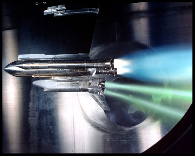 """Shuttle engine """"Out test"""""""