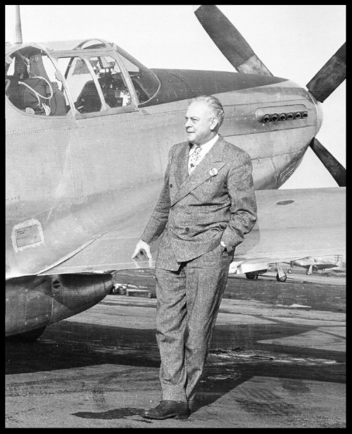 "Dutch and    P-51 Mustang   , $51,000 each. Image- ""Warbird Factory"" by John Fredrickson"