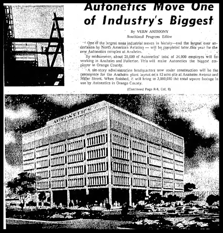 Independent Press Telegram Sun Jan 13 1963 Autonetics move
