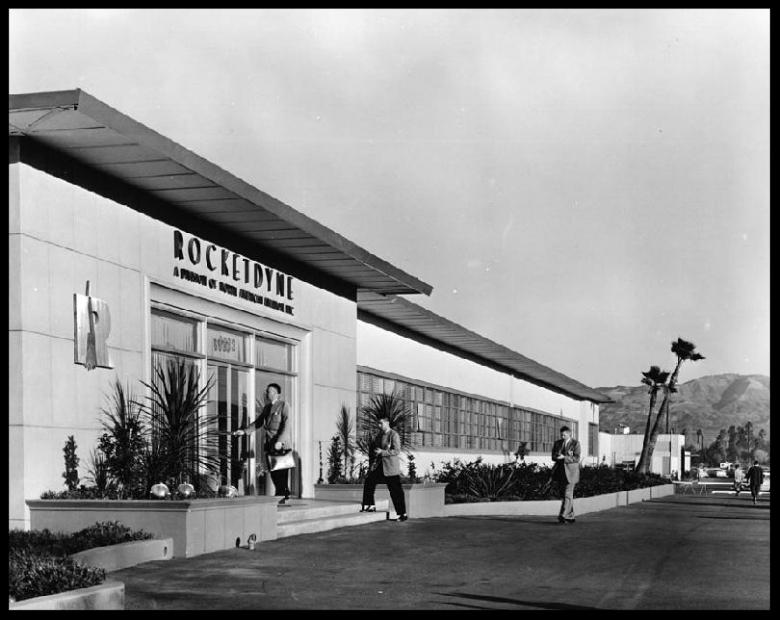 Rocketdyne-Archives-Canoga-Facility-Entrance-1950s