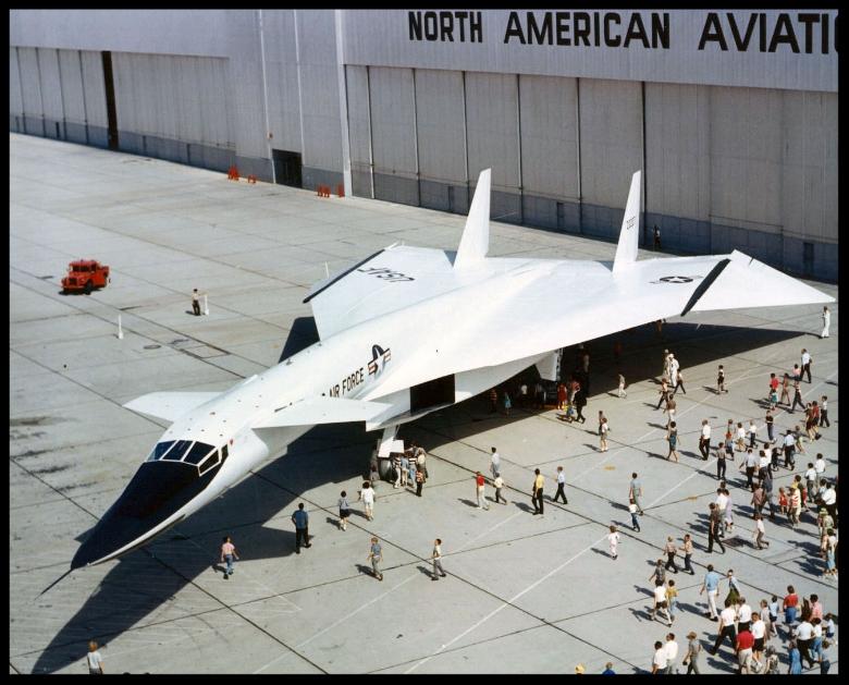 North American Aviation's  XB-70-Valkyrie