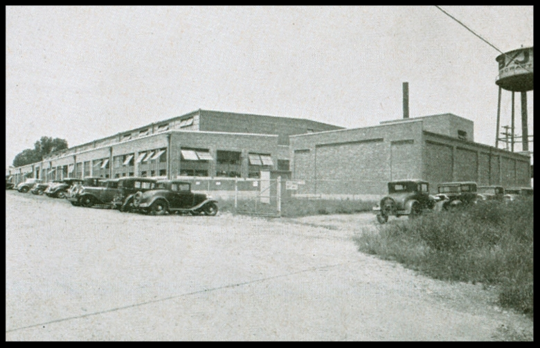 North American Aviation plant in Dundalk, Maryland.