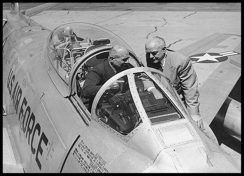 North American Aviation F-86 Sabre, General Doolittle and Dutch Kindelberger