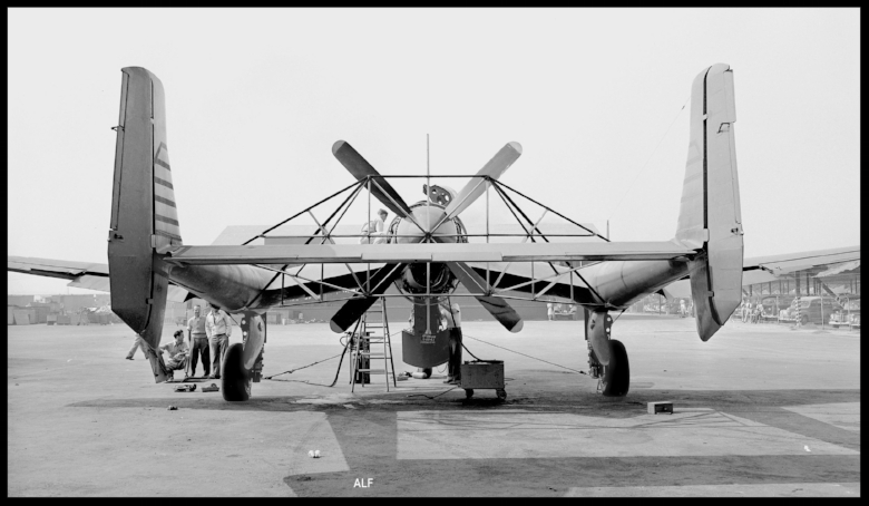 Vultee XP-54.  Image- USAF/SDASM