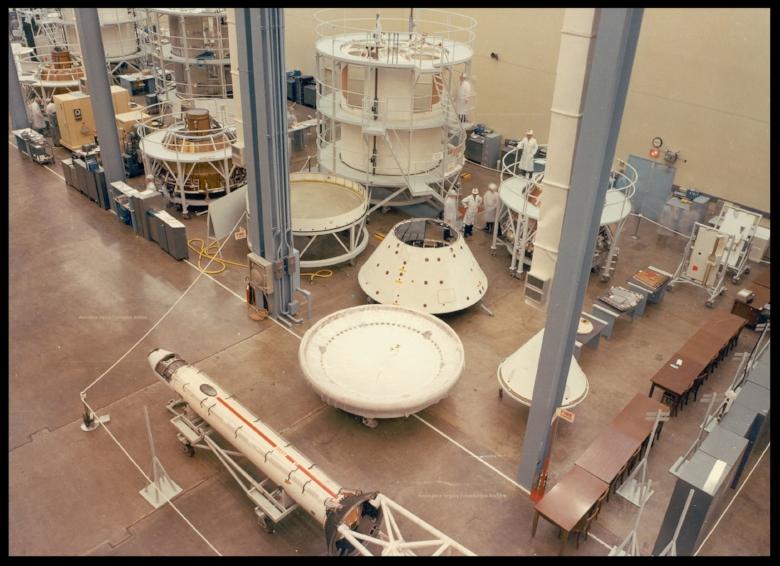 November 1965 North American Aviation Space Division, Apollo. Courtesy- Norm Casson