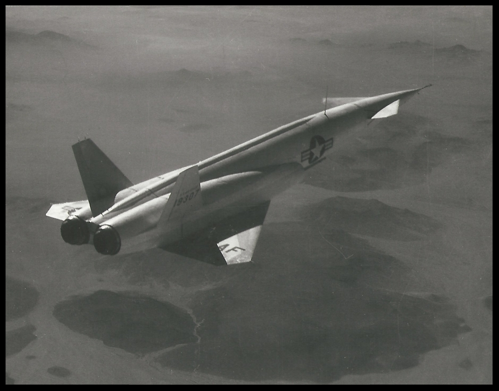 """""""The North American X-10 was an unmanned technology demonstrator, developed by North American Aviation. It was a subscale reusable design that included many of the design features of the SM-64 Navaho missile.""""  Wiki. Image- Boeing and ALF Archive"""
