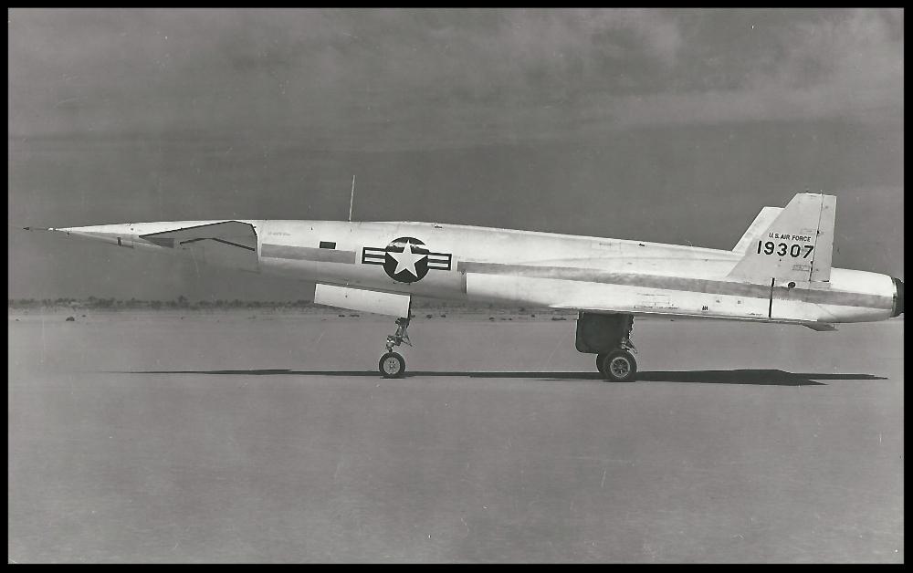 X-10 Navaho missile at the ready.