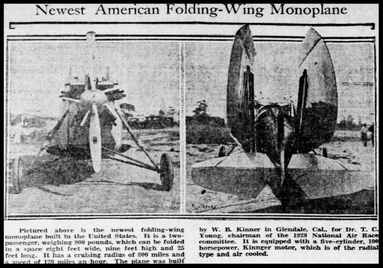 The Pittsburgh Press Sun April 29, 1928.