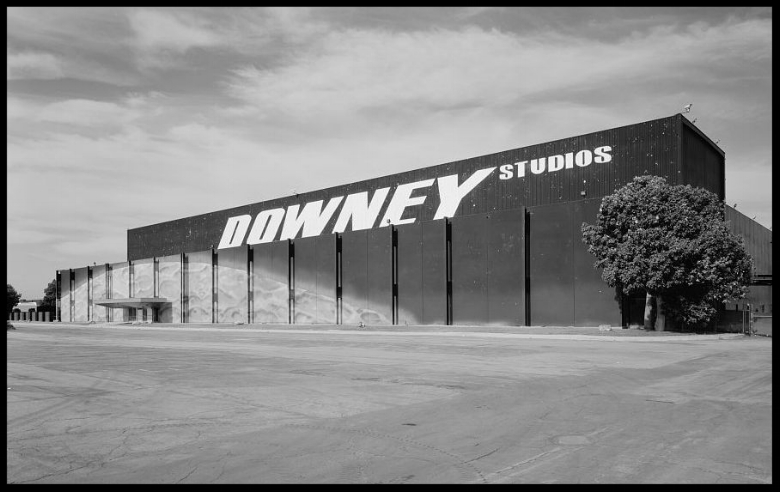 NASA Industrial Plant Downey, Systems Integration & Checkout Facility Bldg 290 front, Downey Studios. 2012