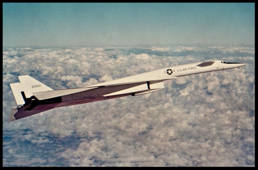 North American Aviation XB-70 Image- Conrad Lueke/ NAA