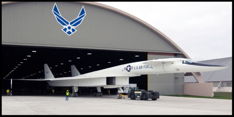 The only Valkyrie left in the world—the last trace of the Air Force's first attempt to replace the B-52—is getting moved to a new wing of the Air Force's museum.