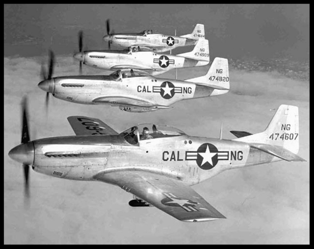 The last United States military use of the P-51 was in 1968, when the U.S. Army employed a vintage P-51D as a chase aircraft for the Lockheed YAH-56 Cheyenne armed helicopter project. More here-
