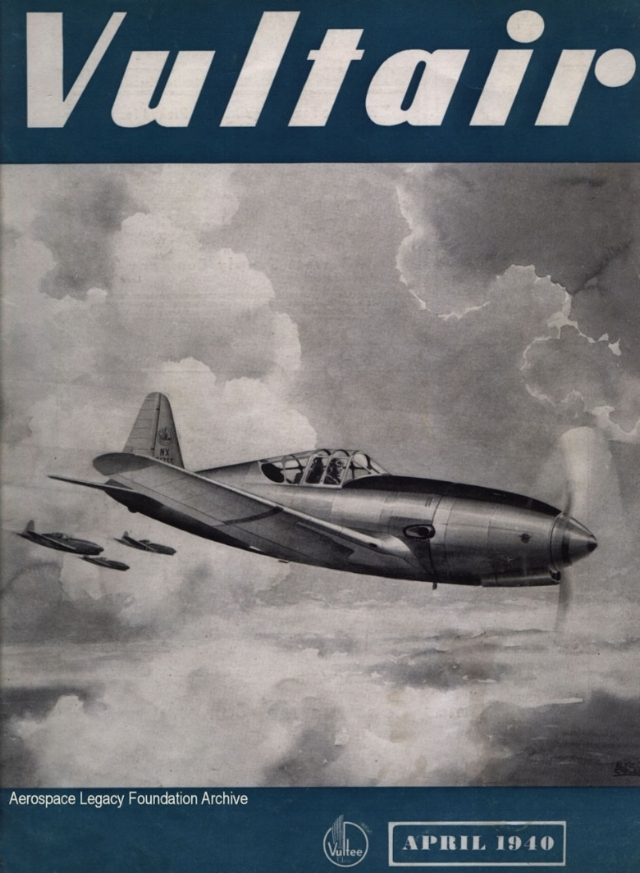 "Above- ""Vultair"" magazine April 1940"