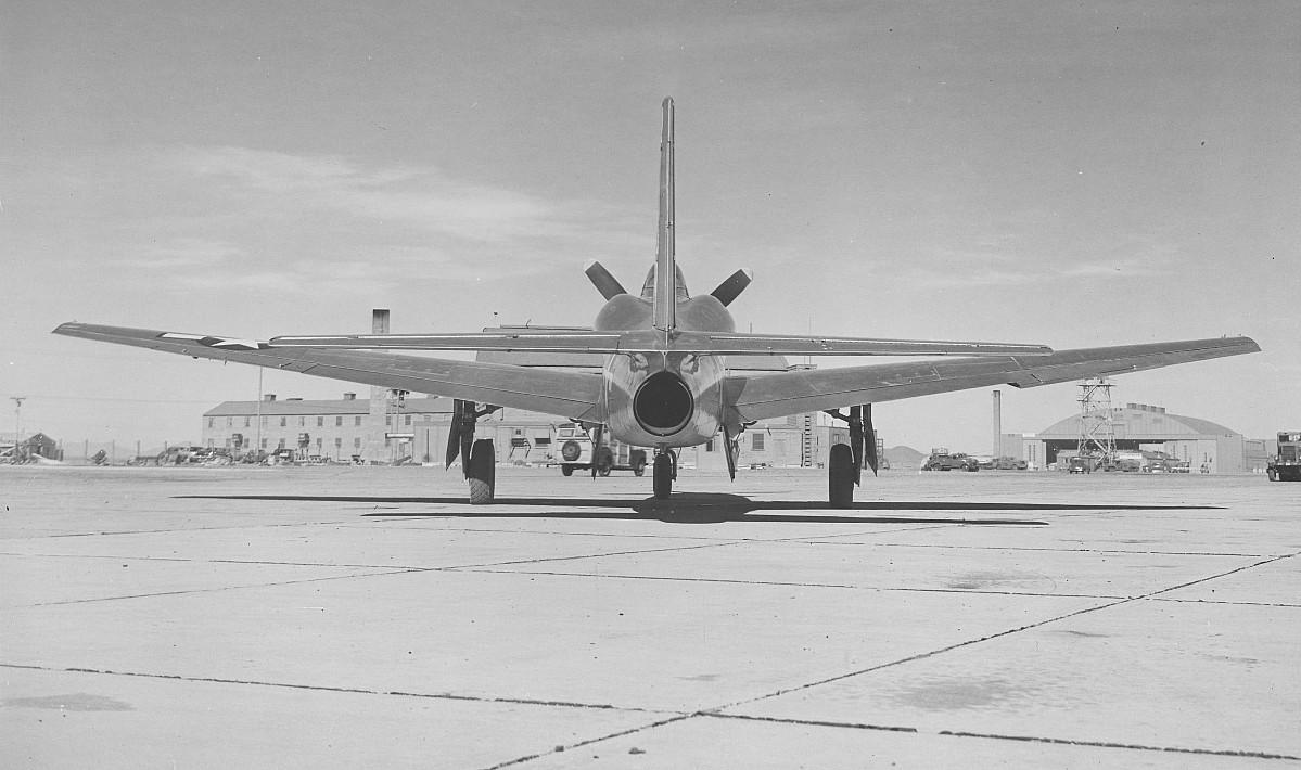 Ground view XP-81