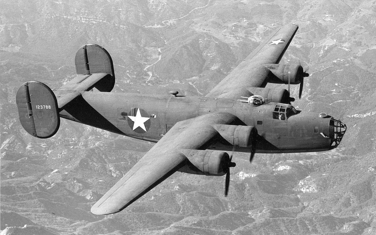 B-24D-5-CO Liberator.