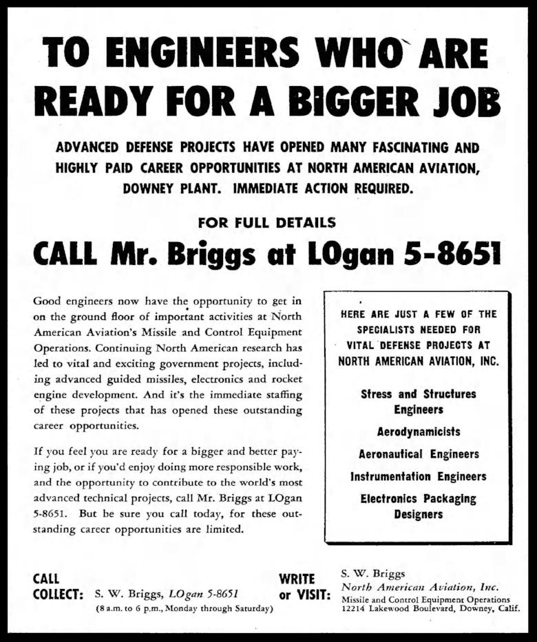 Above- Los Angeles Times Fri Feb 6 1953 .