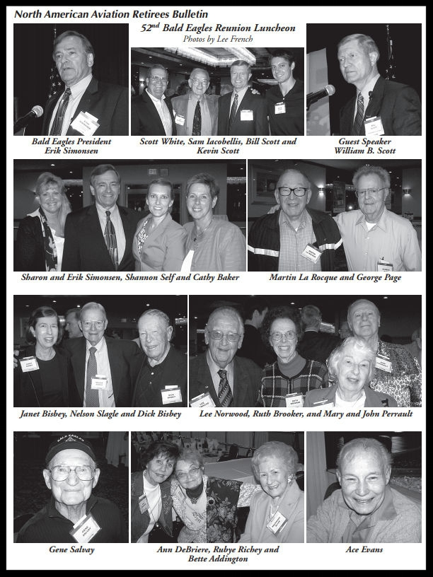 Above- 52nd NAA Bald Eagles Reunion. Photos by Lee French.    Summer 2014 Bulletin.