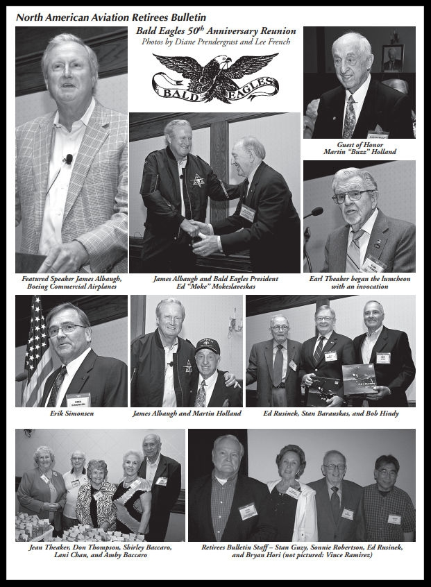 Above- 50th Annual NAA Bald Eagles Reunion.    Color images here.