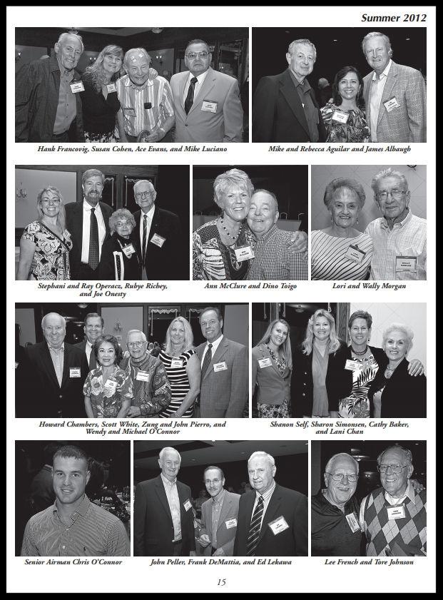 Above- 50th Annual NAA Bald Eagles Reunion.    Summer 2012 Bulletin   .