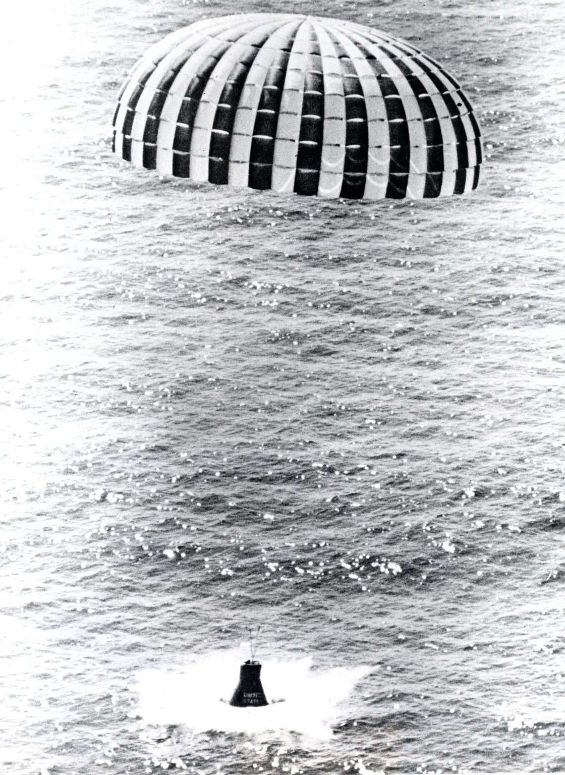 Little Joe 5B launched a Mercury spacecraft in a high-Q-abort test.