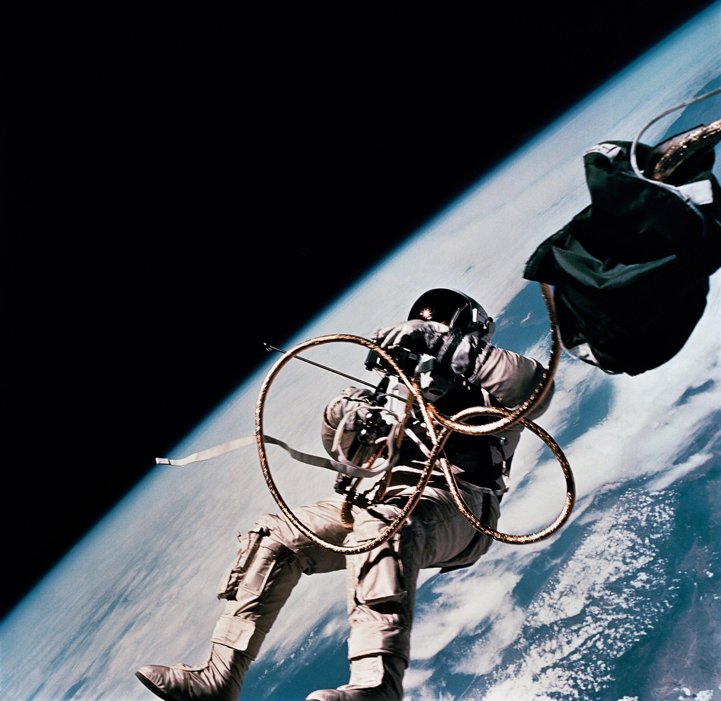 Astronaut Edward H. White II