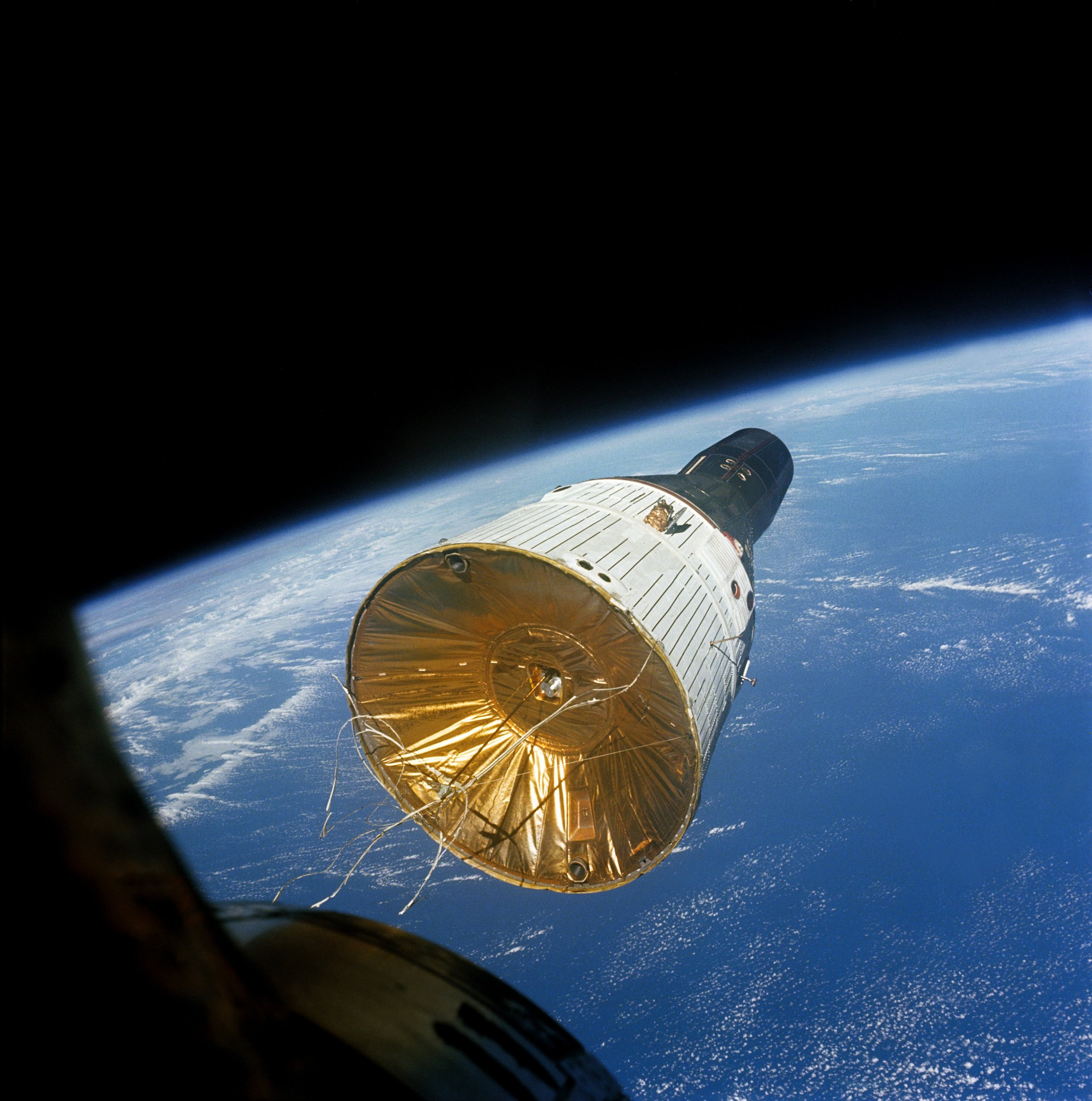 Gemini VI Mission Image - Rendezvous with Gemini VII 1965