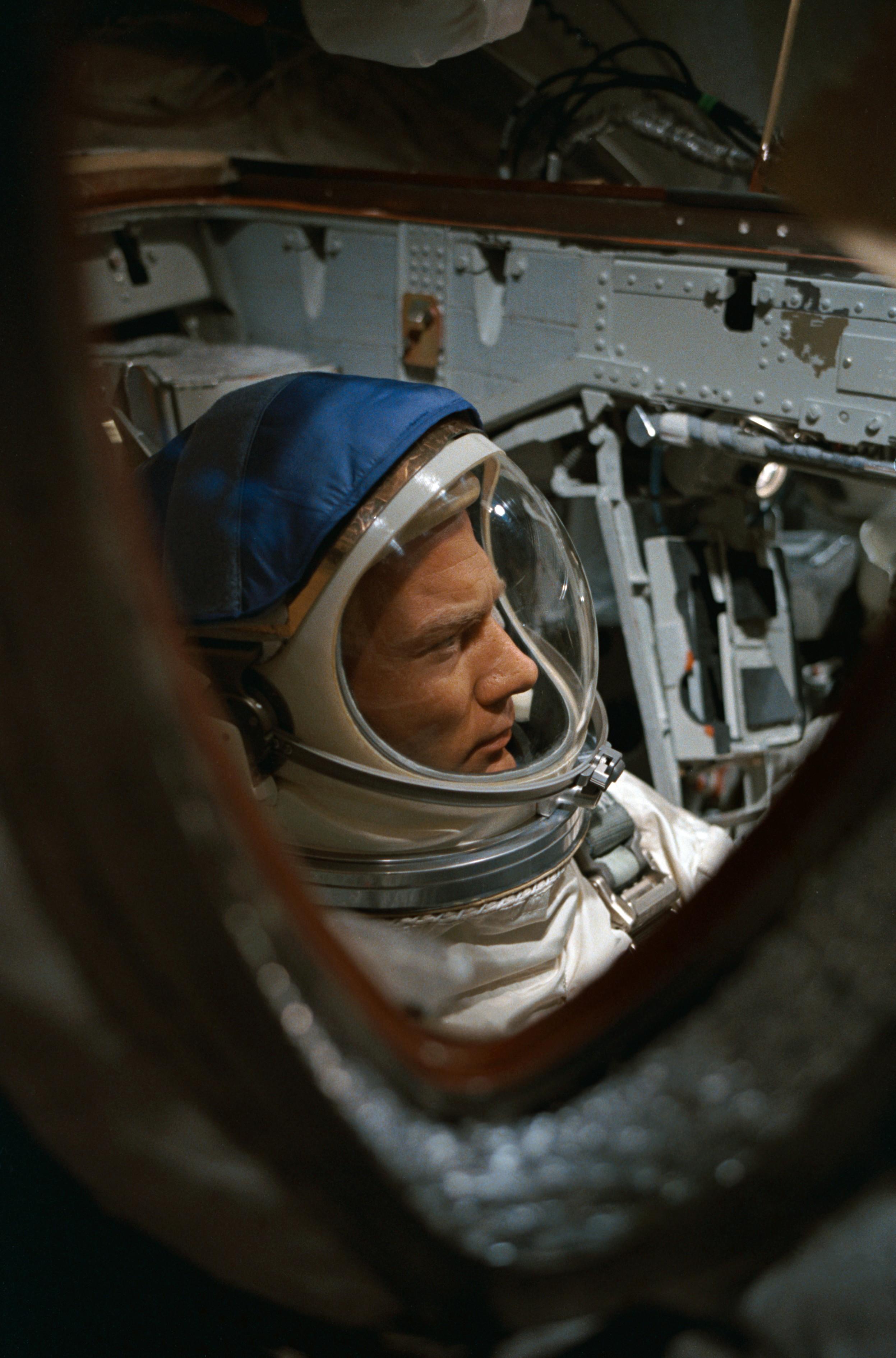 Astronaut Edwin E. Aldrin, Jr., pilot