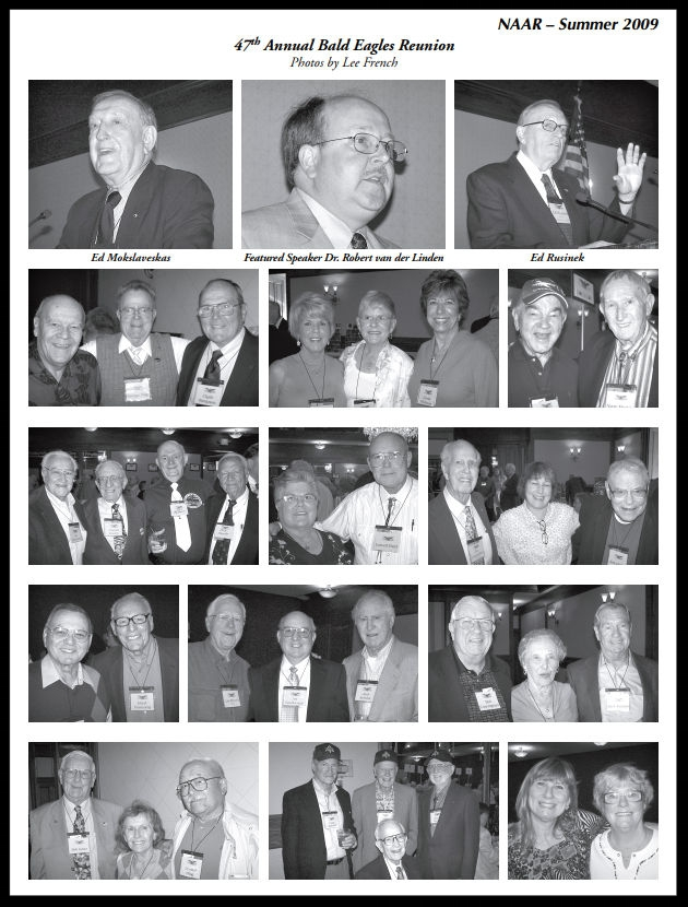 47th NAA Bald Eagles Reunion. Images Lee French.    Summer 2009 Bulletin   .