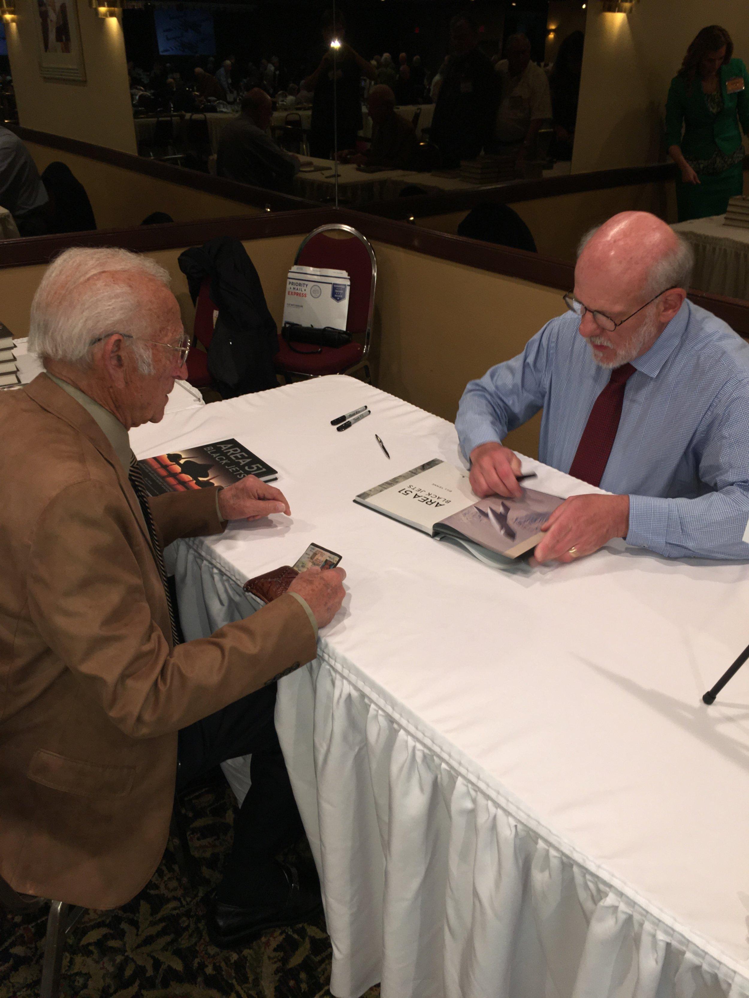 Sam Iacobellis and author Bill Yenne