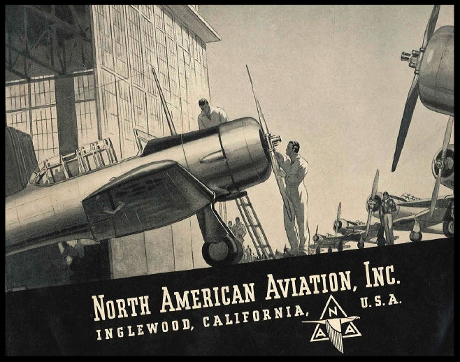 Above- NAA Skyline back cover section, July 1940