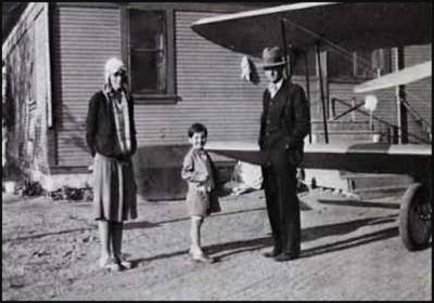Left to right Amelia Earhart, Donna Kinner Hunter & Burt Kinner from Madcaps, Millionaires & More  by John Underwood