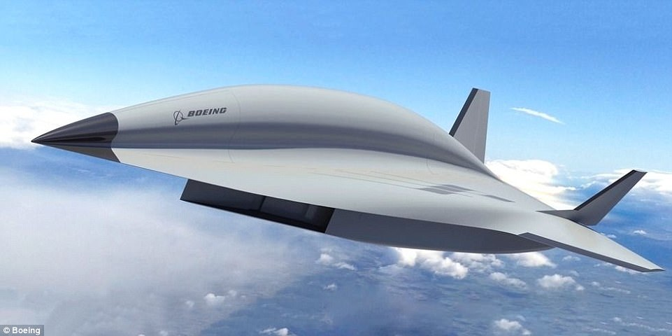 Boeing has finally unveiled the potential successor to the legendary Blackbird SR-71 spy plane (pictured)- and it is set to travel at more than five times the speed of sound.