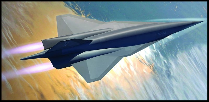 Skunk Works Lockheed SR-72