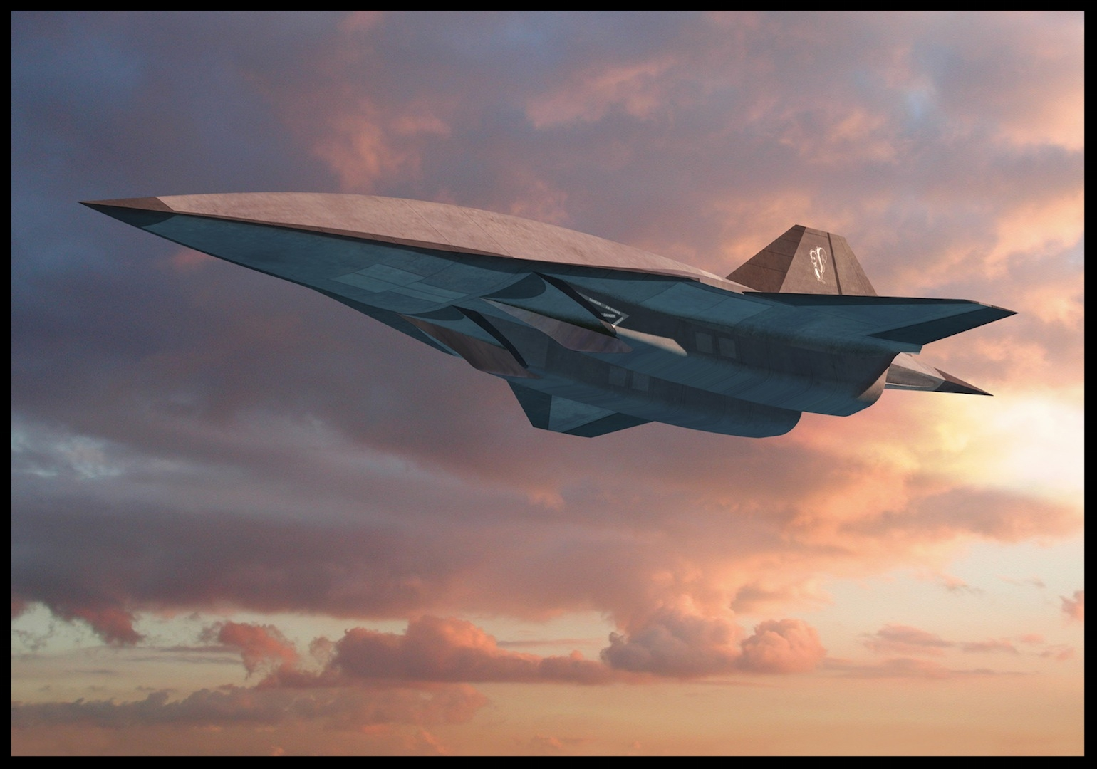 SR-72 by Lockheed. Image- The Drive