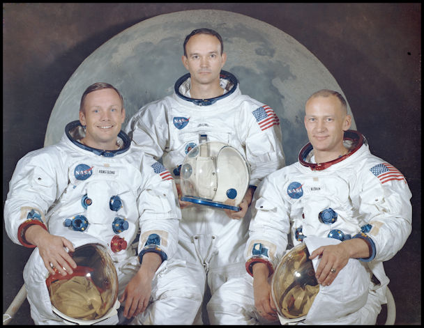 Apollo 11 Crew- Image NASA