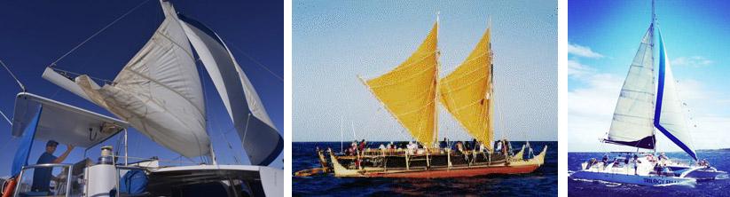 sailing in Hawaii