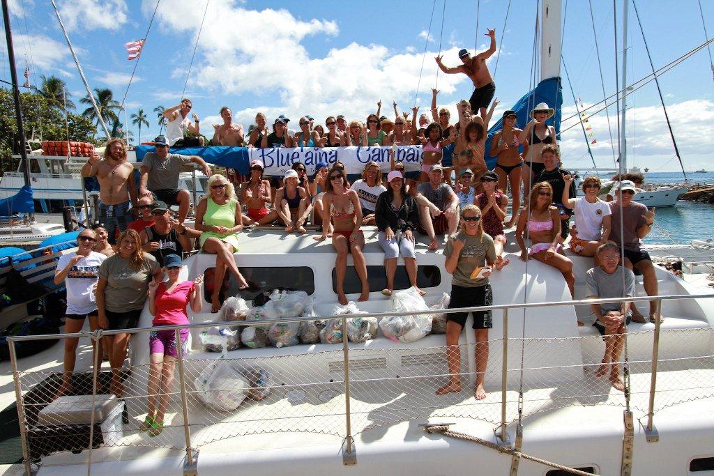 Volunteering on Maui
